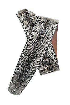 D'Addario - Planet Waves Leather Guitar Strap  Snake Skin (Python) Style