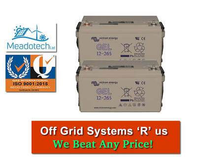 12V 220 - 60Ah GEL DEEP CYCLE BATTERY  SOLAR & LEISURE SYSTEMS FREE UK Delivery