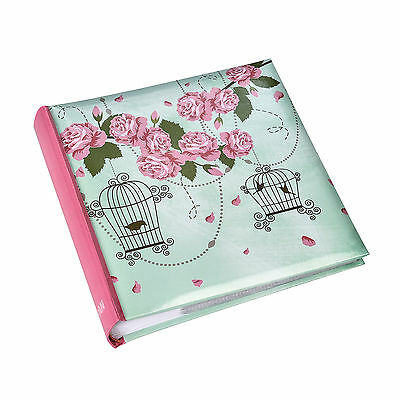Vintage Rose Memo Photo Album Slip In Case 200 6 x4 photos Gift Album - BL200