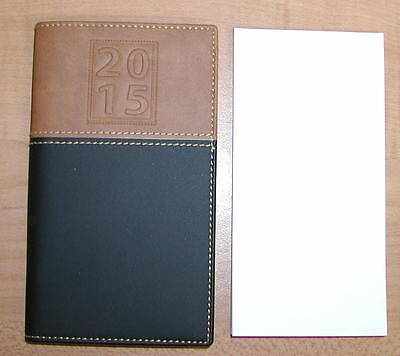 2015 Pocket Pal Calendar Planner Diary Organizer With -TWO- Notepads  MRYON
