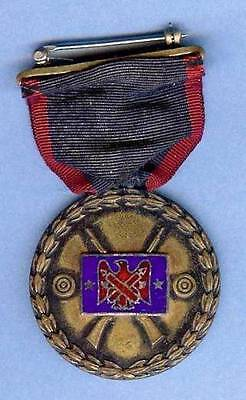 US Army Chief of the  National Guard Bureau Indoor Rifle Shooting Medal, 1930s