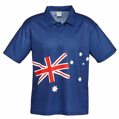 *new!* Australia Polo Shirt Great Quality Australian Themed Gift