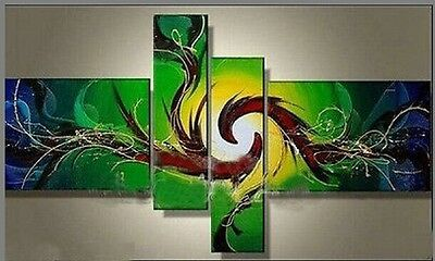 4pc Modern Abstract hand-painted oil painting decorative(NO frame)023