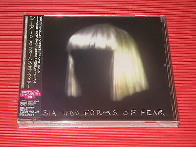SIA 1000 FORMS OF FEAR with bonus track JAPAN CD
