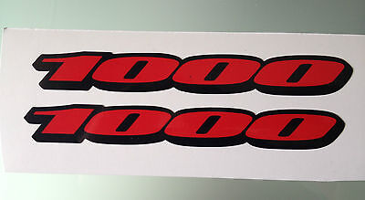 "GSXR ""1000"" Fairing Decals / Stickers (Any Colour)"