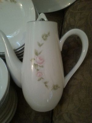 """Vintage Style House """"TUDOR ROSE"""" Fine China (Made in Japan) Lidded Coffee Pot"""