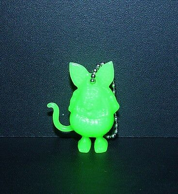 "GREAT LITTLE ED ROTH ""RAT FINK"" FIGURE KEY CHAIN IN GREEN!!!"