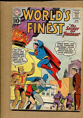 Worlds Finest #119 - The Secret of Tigerman - 1961 (Grade 3.0) WH