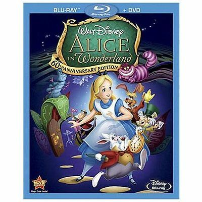 Alice in Wonderland-60th Anniversary Edition(Blu-ray)