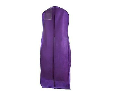 Purple Wedding Gown Garment Bag, Preserve And Store Wedding Or Bridesmaid Dress