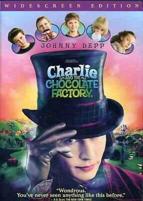 Charlie and the Chocolate Factory (DVD, 2005, WS) *LOW LOW PRICE* FREE SHIPPING