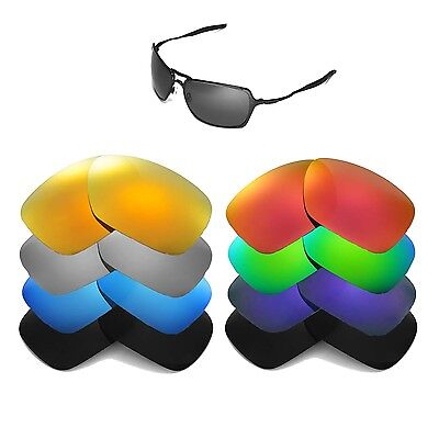 Walleva Replacement Lenses for Oakley Inmate Sunglasses - Multiple Options