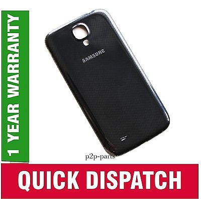 Black Genuine Battery Back Rear Replacement Cover For Samsung Galaxy S4 Iv I9500