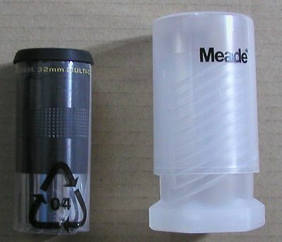 NEW 32mm Meade Series 4000 Super Plossl telescope eyepiece