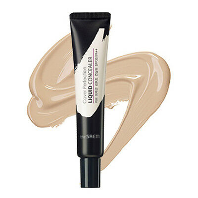 [THE SAEM] Cover Perfection Liquid Concealer (SPF30/PA++) 15ml 2 Color