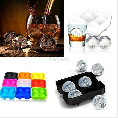 Kitchen Bar Drink Sphere Big Round Ball Ice Brick Cube Maker Tray Mold Mould F41