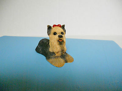 Yorki Puppy/Dog Yorkshire Terrier United Designs Stone Critter Babies Collection