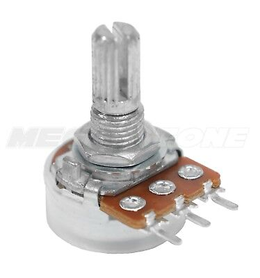 B10K Ohm PCB Mount Potentiometer, Alpha Brand. Includes Dust Seal! USA Seller!!!