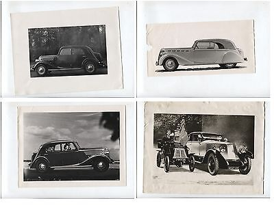 N°6422 / RENAULT : 4 photos 1937-38