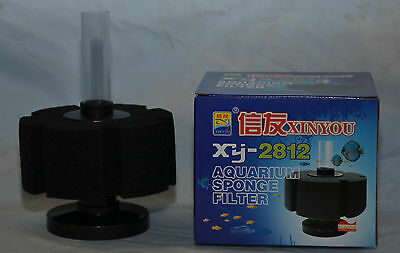 Air Driven Bio Sponge Filter 250L Aquarium Fish Shrimp Internal Filter XY-2812
