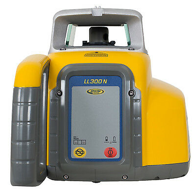 Spectra Precision LL300N-4 Laser Level with Rechargeable Kit & HL450 Receiver