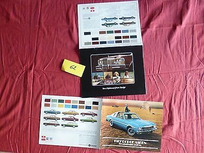 62  / DODGE : 2  catalogues Aspen/New Diplomat  english text  1976-77