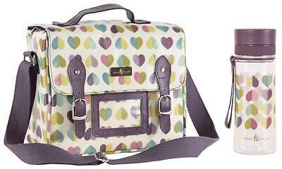 Beau & Elliot Vintage Confetti Ladies Insulated Satchel and Hydration Bottle