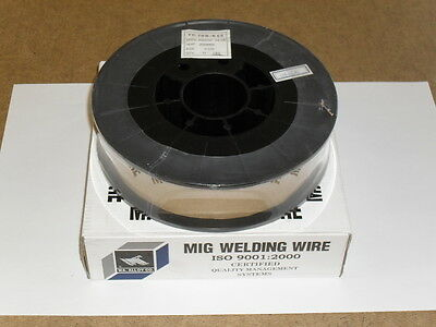 ".023"" ER-70S-6 Carbon Steel Mig Wire - 11 Lb Spool"