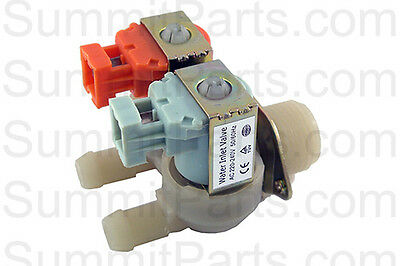 2 Way, 220V Inlet Valve For Wascomat Washers - 823504N, 823554N