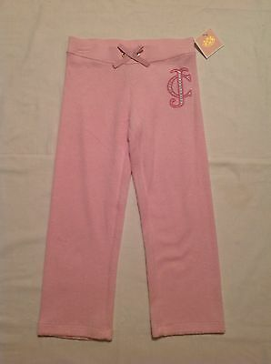 Girls Juicy Couture Long Pants Velour Pink Size 5 NWT $52