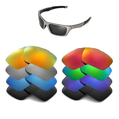 Walleva Replacement Lenses for Oakley Ten Sunglasses-Multiple Options