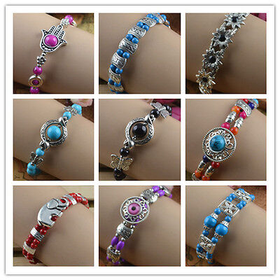 New Classical hot Turquoise cute tibet silver Bracelet