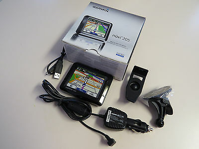 Garmin nuvi 205 GPS with Map of Korea, North and South #969