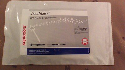 Toothfairy Septodont BPA-Free Dental Pit & Fissure Sealant with Etch