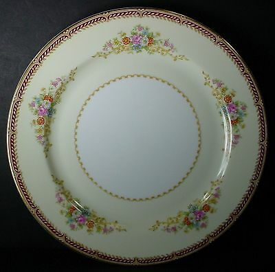 NORITAKE china MYSTERY 179 pattern DINNER PLATE 10""
