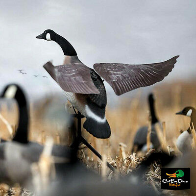 New Lucky Duck Flapper Canada Goose Flapping Wing Motion Decoy With Remote