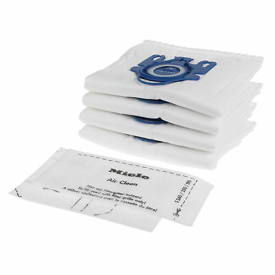 8 Genuine New 3D Efficiency HyClean Dust Bags For Miele GN Vacuum Cleaners