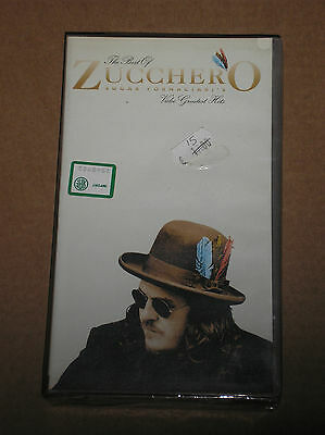 Zucchero Fornaciari - The Best Of: Video Greatest Hits - Vhs Sigillata (Sealed)
