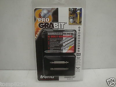 Trend Pro Grabit 2 Pce Damaged Screw & Bolt Remover Grab/se1/set