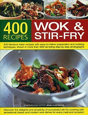 Best-Ever Book of Wok and Stir-Fry Cooking by Jenni Fleetwood Book The Cheap