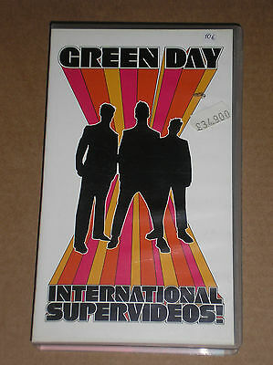Green Day - International Supervideos! - Videocassetta Vhs
