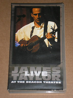 James Taylor - Live At The Beacon Theatre - Videocassetta Vhs