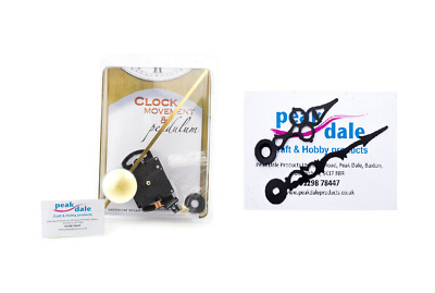 Best Quality German Made Battery Operated Quartz Clock Movement with Hands