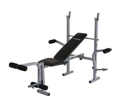 Confidence Fitness Pro Home Multi Gym Dumbbell Weight Bench With Arm Press