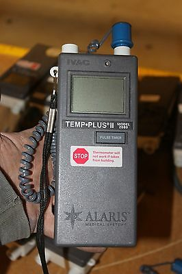 ALARIS IVAC Medical Systems TEMP PLUS II Thermometer model 2080