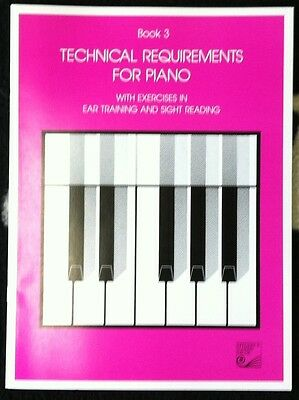 Book 3 Technical Requirements For Piano
