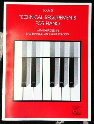 Book 5 Technical Requirements for Piano