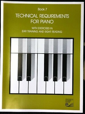 Book 7 Technical Requirements for Piano
