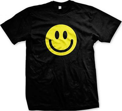 Happy Smiley Face! Cute Trendy Happy Smile Grin Smirk Mens T-shirt