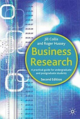 Business Research by Hussey, Roger Paperback Book The Cheap Fast Free Post